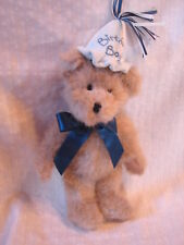 "So Sweet Plush 10"" Boyds Bears Classic Jointed Birthday Boy Bear 903190"