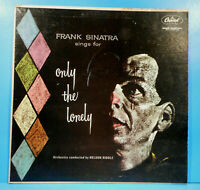 FRANK SINATRA ONLY THE LONELY LP MONO 1958 ORIGINAL GREAT CONDITION VG+/VG+!!C