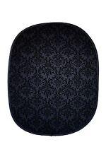 Studiohut 5'x6' Black/Black Damask Collapsible Photo Video Backdrop/Background