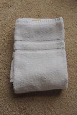 Bathroom White100% Cotton Floor Towel Mat made usa