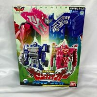 New Bandai Kikai Sentai ZENKAIGER DX ZENKAIOH VROOMAGINE Set From Japan