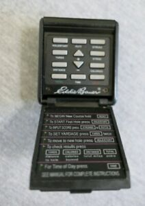 Eddie Bauer Golf Electronic Battery Time Putt Stroke Yards Calories Score Keeper