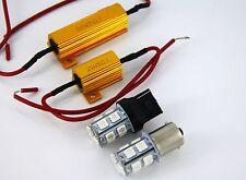 Ford Falcon BA BF AU Orange SMD LED Indicator Lights + No Hyper Flash Resistors