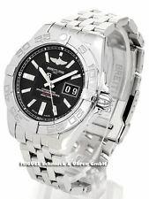 Breitling Armbanduhren aus Edelstahl mit Datumsanzeige