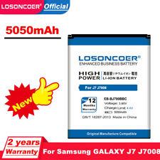 LOSONCOER 5050mAh EB-BJ700BBC Battery for Samsung GALAXY J7 J7008 J700F SM-J7008