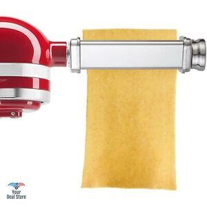 Pasta Roller Attachment For Kitchenaid Noodle Maker Spaghetti Machine Lasagna