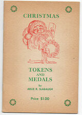 1960s Specialized Catalog of Christmas Tokens & Medals