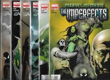 MARVEL NEMESIS THE IMPERFECTS #1-#6 SET (NM-)