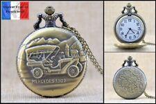 Montre gousset NEUVE ! ( Pocket Watch ) - Voiture Ancienne Old Car Mercedes 1903