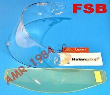 VISERA ORIGINAL NOLAN N90 N91 CLARO + VISERA INTERNA ANTIFOG FSB SPAVIS203