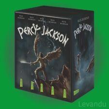 PERCY JACKSON | RICK RIORDAN | Taschenbuch-Bände 1-5 im Schuber - NEU