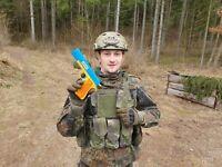 Colt 1911 Gun USA Training Army Gun Navy Same Size Pistol 10 Colorful Bullets