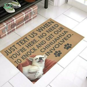 Chihuahua Easy Clean Welcome DoorMat