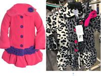 NEW Mack & Co. Girls' Hot Cocoa Fleece Coat-VARIETY