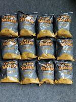 12 1.5oz Bags of The Whole Shabang Chips: The Extreme Super Seasoned Jail Snack