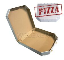50 Stück Pizzakarton 31x31x4 cm Pizzaboxen Pizzakartons Pizza Karton [ Weiß ]