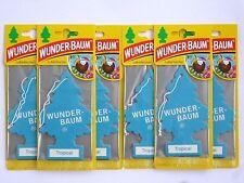 (1,50€/Einheit) 6 x WUNDER-BAUM® Tropical Duft Lufterfrischer NEUER Duftbaum NEW