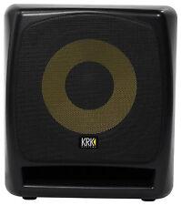 """KRK 12S v2 12"""" 240 Watt Powered Active Studio Subwoofer w/Class A-B Amplifier"""