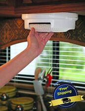 Paper Plate Holder RV Shelf Rack Dispenser Storage Organizer Mount Under Cabinet