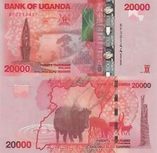 Uganda 20000 Shillings (2017) - Monument/Cattle/p53-New UNC