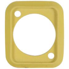 Neutrik SCDP-4 Sealing Gasket for D-size Connectors Yellow