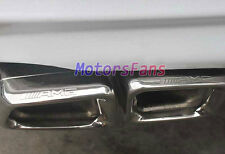 Mercedes Benz W212E220 E250 E300 E350 E500 E550 E63 AMG Dual Exhaust Tips Pipes