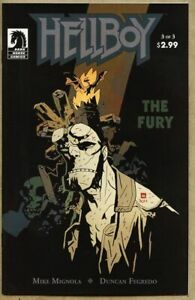 Hellboy The Fury #3-2011 nm- 9.2 Dark Horse Mike Mignola 1st Standard Cover