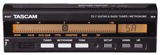 Tascam TG7 Guitar Bass Tuner Metronome.