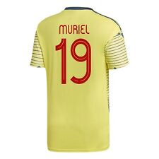 #19 MURIEL Adidas Colombia Home 2019/20 Soccer Jersey