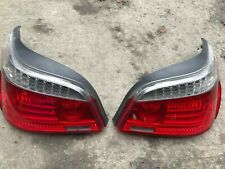 BMW E60 LCI REAR TAIL LIGHTS Genuine 2007-2010