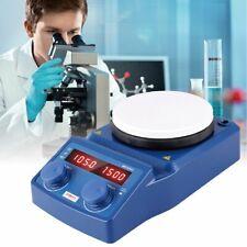 110v 5 Inch Led Digital Hotplate Magnetic Stirrer Ceramic Coated Plate 1500rp