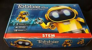 Tobbie The Robot Interactive Artificial Intelligence New in Box