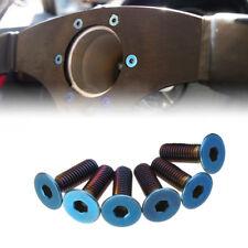 Burnt Titanium Kit Steering Wheel Bolts Screw For Momo Nardi NRG Works Bell Boss
