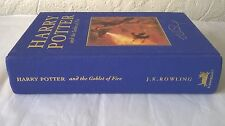 Harry Potter Goblet of Fire DELUXE FIRST EDITION 1st PRINT book Bloomsbury 1/1