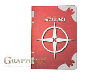 Fire Emblem Arcfire Spell Tome Robin inspired personalized journal notebook