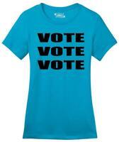 Ladies Vote Vote Vote Soft Tee Elections Politics 2020 President