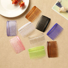 12X Wholesale Craft Hair Clips Barrettes Combs Ladies Side for Metal 70X40mm Pin