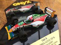 ONYX 166 166B 167 CASTROL LOTUS 107B F1 model cars Zandari Lamy Herbert 1:43rd