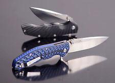 Real Steel T101 Thor Groove Blau Schwarz Kugellager 14C28N  Sandvik 60° 01RE090