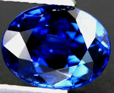 EXQUISITE 4.56CT TOP ROYAL BLUE SAPPHIRE 9x11mm OVAL CUT AAAA+ LOOSE GEMSTONE