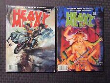 1998 Heavy Metal Magazine May & Nov Vf+ Lot of 2 Neil Gaiman - Dayak 3