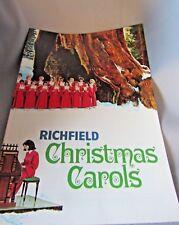 Christmas Carols Words & Music Richfield Carol Book The Nations Christmas Tree