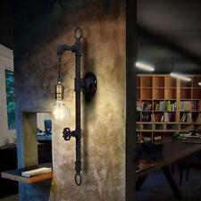 Antique Industrial Steampunk Pipe Wall Sconce Light Wallmount Loft Lamp Fixture