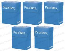 5 Ultra Pro LIGHT BLUE Deck Box Bulk Lot MTG 82477