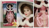 Royal Belle Porcelain Keepsake Doll Beauty and the Beast Holiday Edition Disney