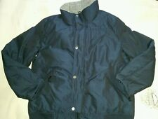 Nautica Parka Down Wind/Water Resistant Puffer Navy Bomber Coat 2XL