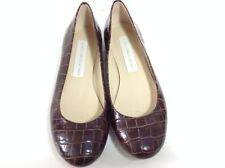 STELLA MCCARTNEY brown flat pumps / shoes size 3
