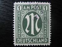 GERMANY OCCUPATION ZONES Mi. #35 scarce used AMG stamp! CV $660.00