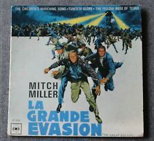 La grande evasion - Mitch Miller, BO du film / OST, EP - 45 tours