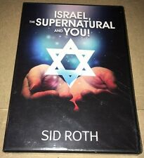 Israel, The Supernatural And You! - Sid Roth Brand New Sealed DVD